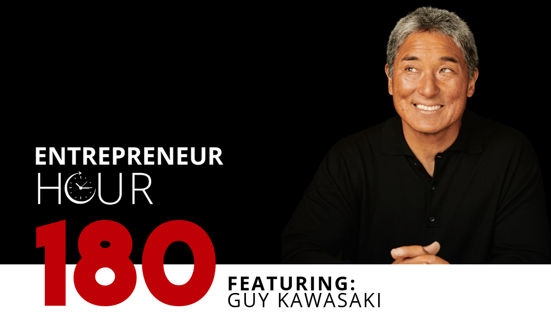 Pitching Investors and Life Advice with Guy Kawasaki | Why the Actual Pitch is Overrated